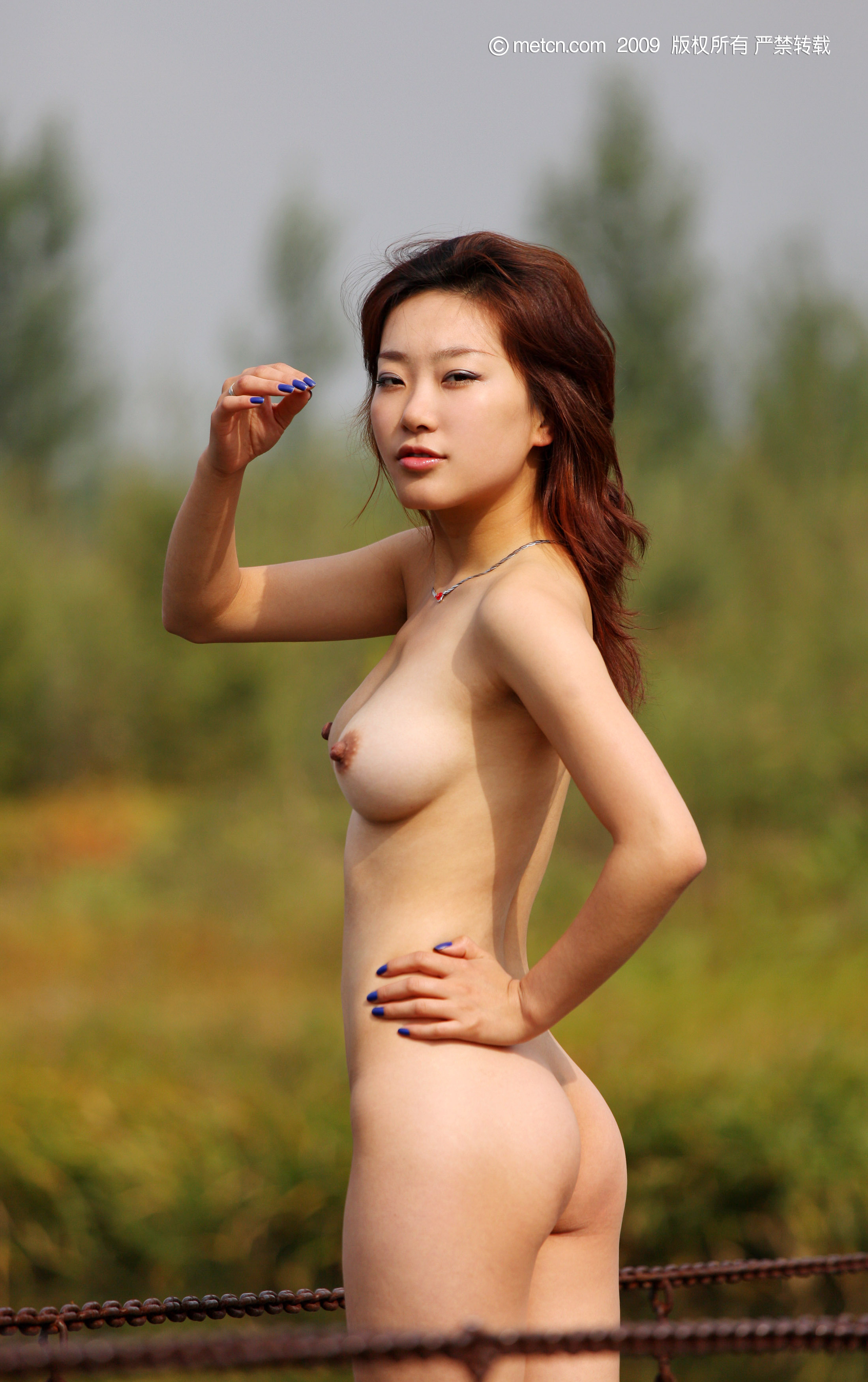 Chinese girls nude model